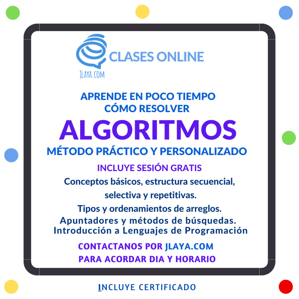 Cursos  Algoritimos